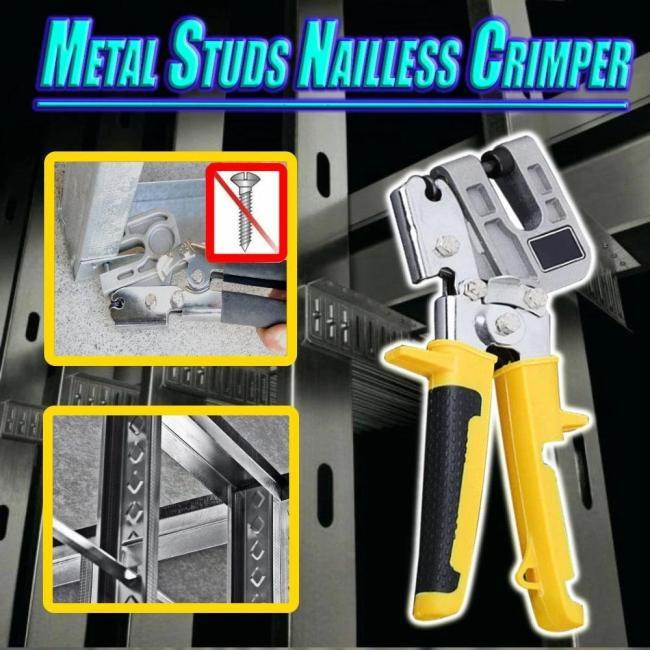 METAL STUD CRIMPER