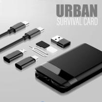 Urban Survival Card Multi-function Universal Smart Adaptor Card