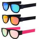 Foldable Slap Polarized Sunglasses