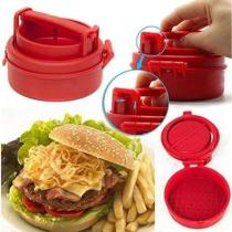 Stuffed burger maker