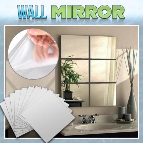 9/16pcs Mirror Wall Stickers