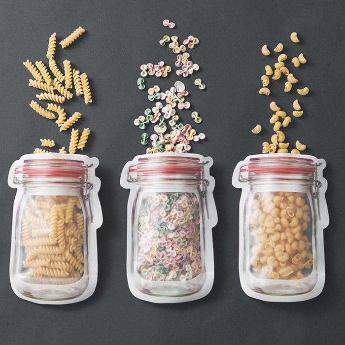 Reusable Mason Jar Storage Bags