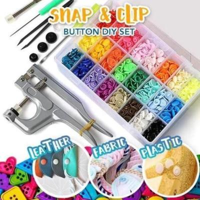 Snap Button DIY Set (150 Pcs Set)