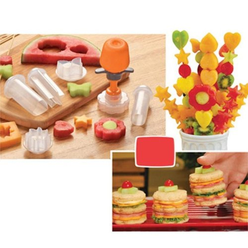 Creative Fruit Shape Cutter Slicer Fruit Slicing Fruit