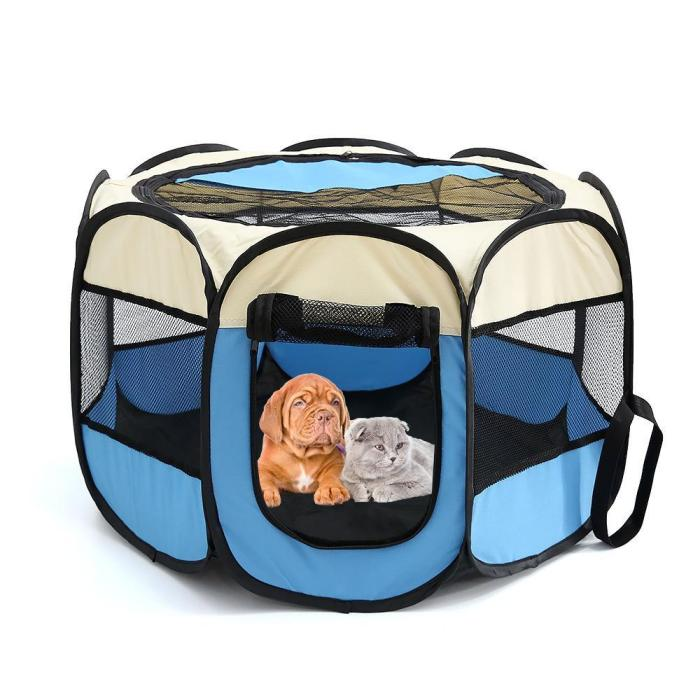 PORTABLE PET TENT - PERFECT FOR PUPS, CATS, AND MORE!