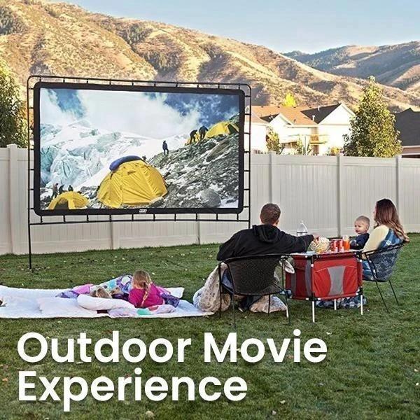 Portable Giant Outdoor Movie Screen