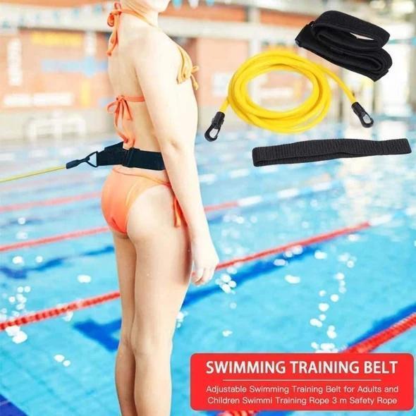 Swimming Resistance Belt Set