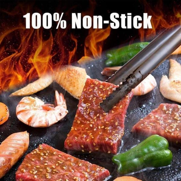 Non-Stick BBQ Baking Mats-they can also be cut to fit your particular grill or oven perfectly
