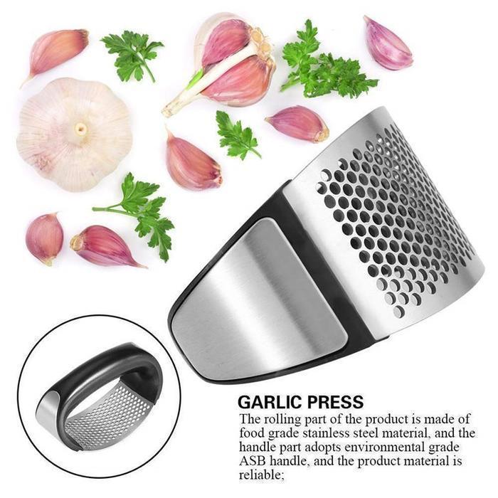 Easy Garlic Pressing Tool