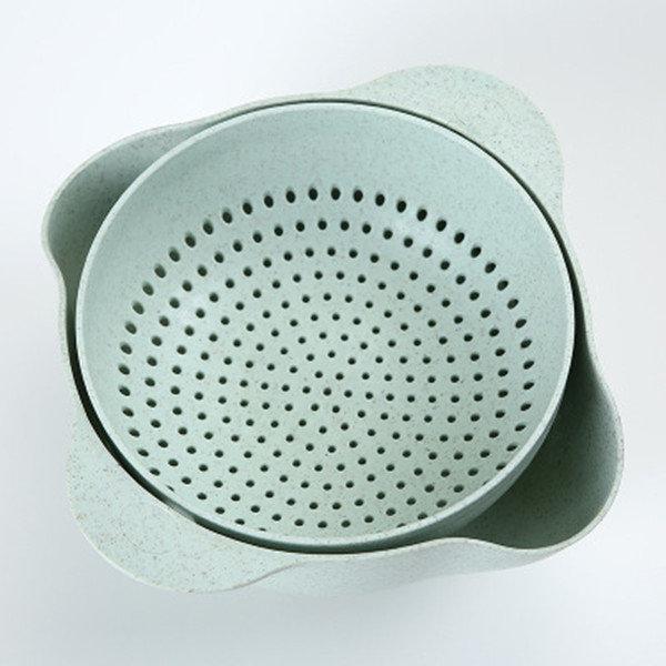 Multifunctional Washing Double Drain Basket