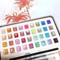Glitter Watercolor set -12/36/48 Color