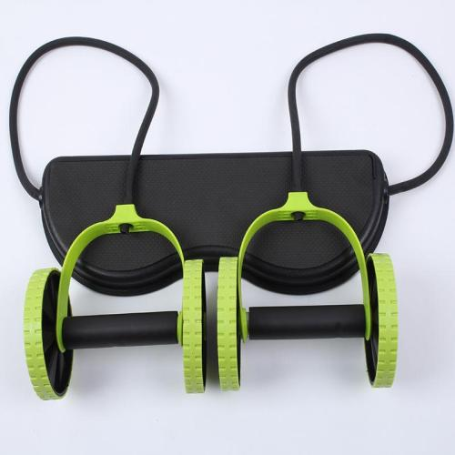 Two-Wheeled Fitness Rope