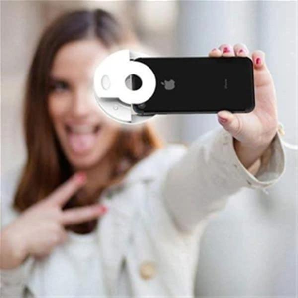 Clip-On Selfie Ring Light
