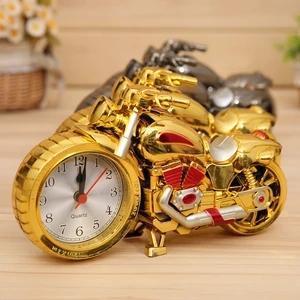 Motorcycle and Locomotive alarm clock