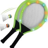 Luminous Badminton Racket(2 X badminton rackets & 2 Xluminous badminton)