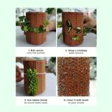 Self-watering Planter Ceramic Flowerpots