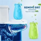 Bear Blue Bubble Toilet Toilet Deodorant Toilet treasure