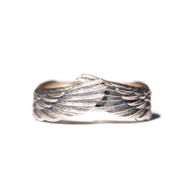 Adjustable Angel Wing Rings