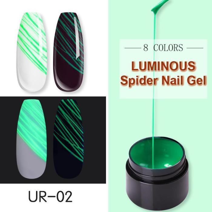 Luminous Spider Nail Gel