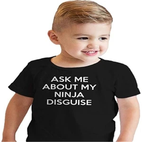 Ninja Disguise Parent-child T-shirt