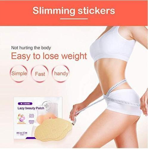 5Pcs Belly Slimming Stickers Patch Lazy Beauty Patch Quick Slimming Patch
