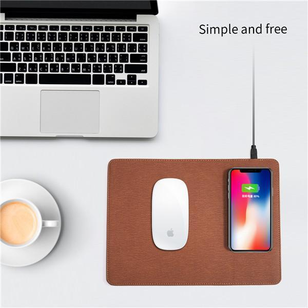 Efficient office mouse pad (wireless charging)