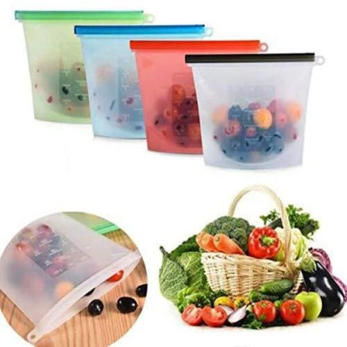 Reusable Silicone Food Storage Bag