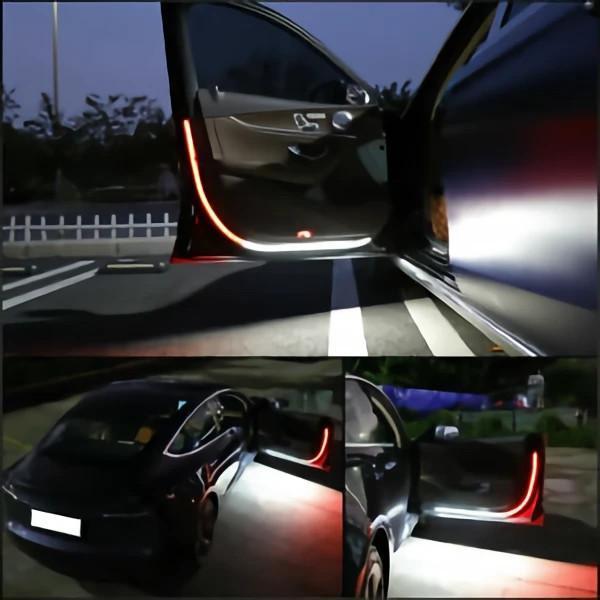 Door anti-collision warning light
