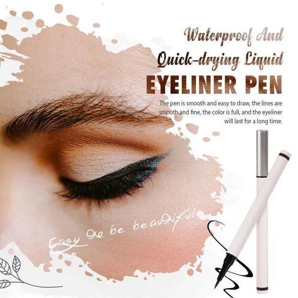 Color Waterproof Quick-drying Magic Eyeliner Pen