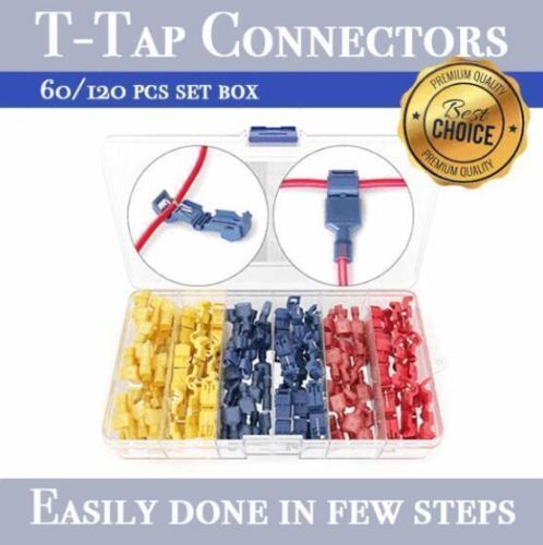 T-Tap Connectors (120pcs)