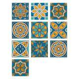 3D Visual Art Geometric Tile Decals (10Pcs/Set)