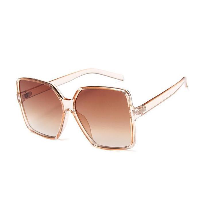 New Oversized Square Sunglasses