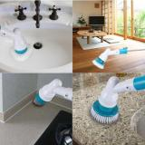 Turbo Spinning Scrubber Brush