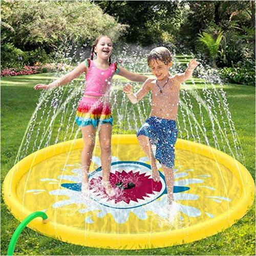 Summer Clearance Sale!! Inflatable Splash Water Mat