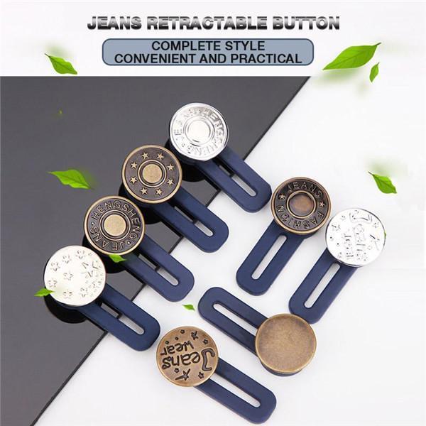 Jeans Retractable Button 3Pcs