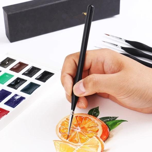 Miniature Paint Brushes Detail Set ( 9PCS)