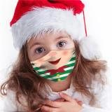 Children Christmas Cloth Face Mask