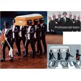 Negro Carrying A Coffin Dancer Toy Decoration Automotive Interior Black Man Carrying Coffintrend Decoration