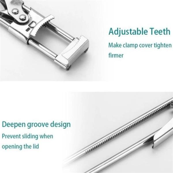 Adjustable Multifunctional Stainless Steel Can Opener
