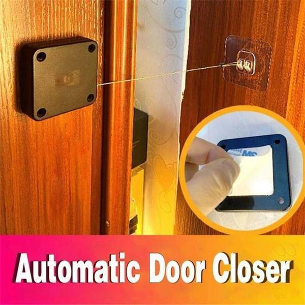 Punch-free Automatic Sensor Door Closer