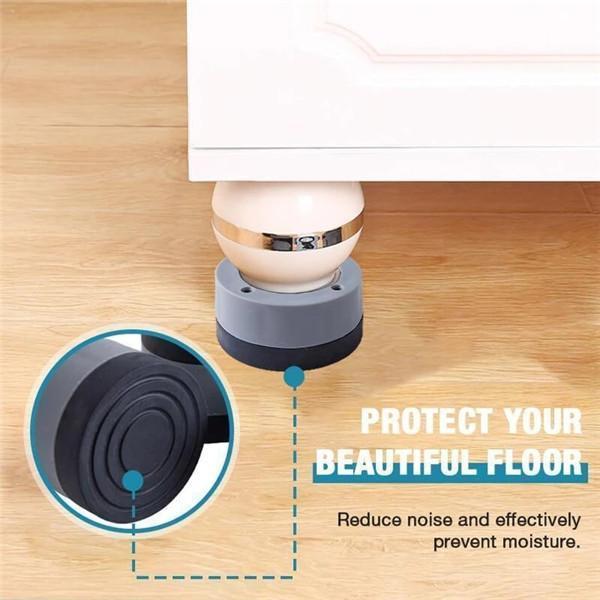 Anti-slip And Noise-reducing Washing Machine Feet