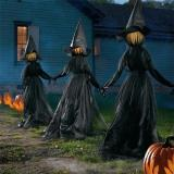 🔥HOT SALE 👻Happy Halloween👻Lighted Halloween Witch Decoration Set