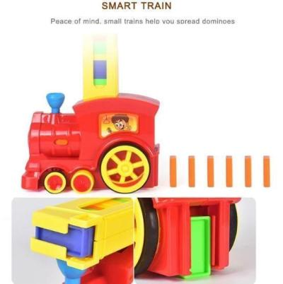 Automatically Start Dominoes Small Train