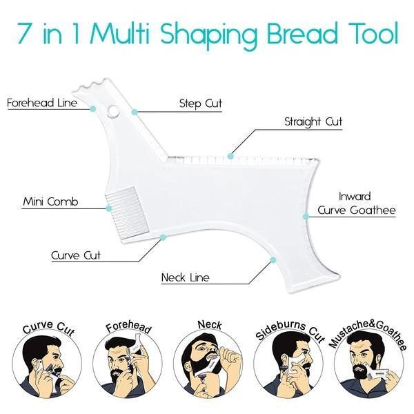 7-IN-1 BEARD CUTTING GUIDE SHAPER