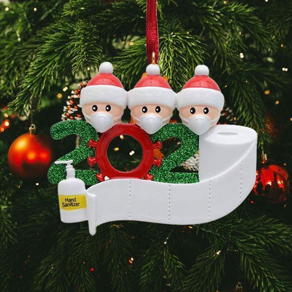 2020 Dated Christmas Ornament