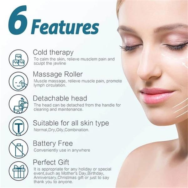 CRYOTHERAPY ANTI-AGING FACIAL ICE ROLLER