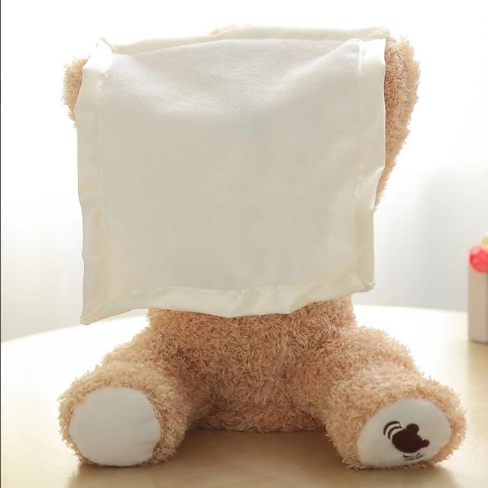 Peek a Boo Plush Bear