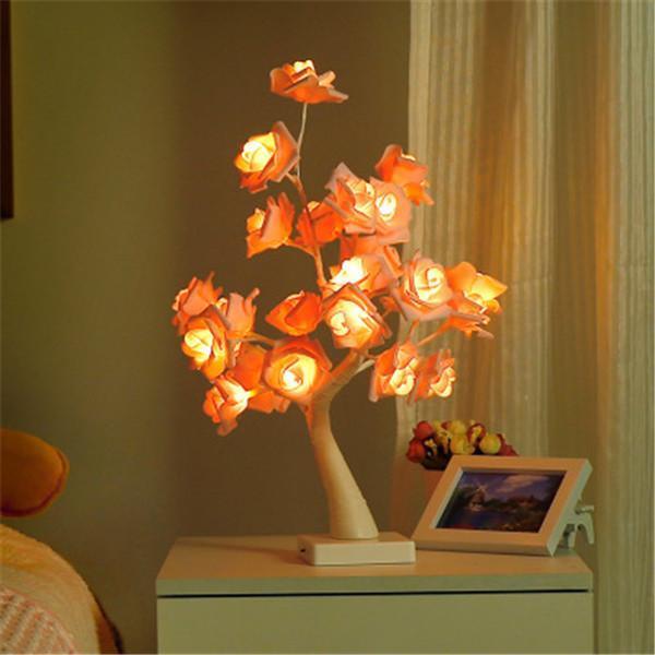 Rose Tree Table Lamp