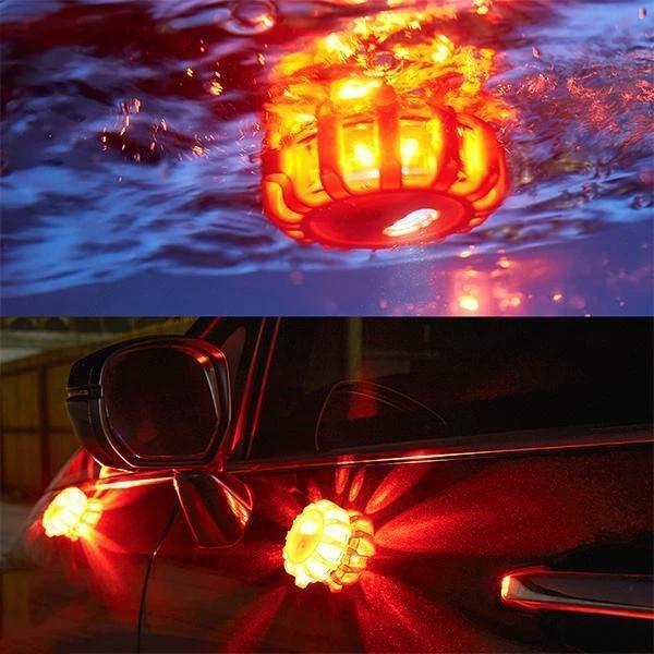 LED Road Flares Flashing Warning Light