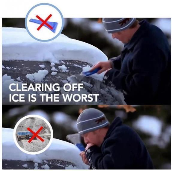 Magical Ice Removal Tool